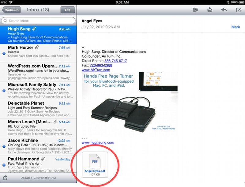 How To Pdf Files To Ipad From Email