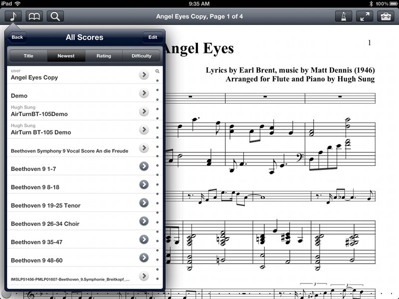 Transferring Converted Music to an iPad using Email | Going Digital ...