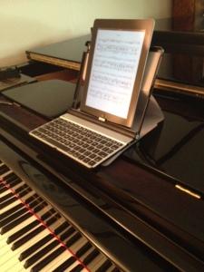 my 4 c setup as a digital sheet music musician going digital for musicians. Black Bedroom Furniture Sets. Home Design Ideas