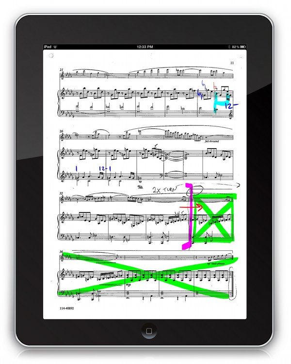 Going digital for musicians a guide to working with sheet music a fandeluxe Gallery