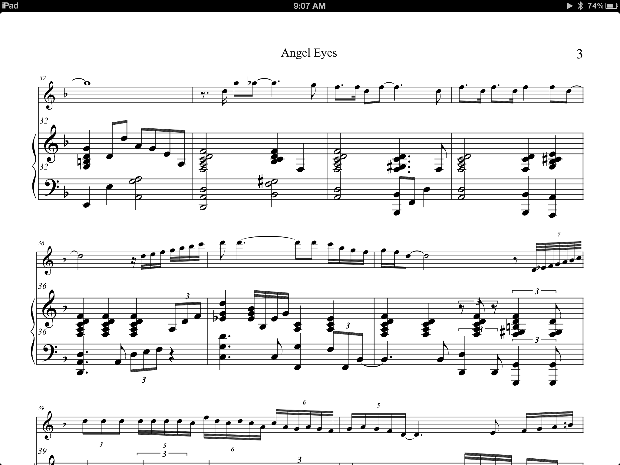Going digital for musicians a guide to working with sheet music music on the ipad using forscore biocorpaavc Images